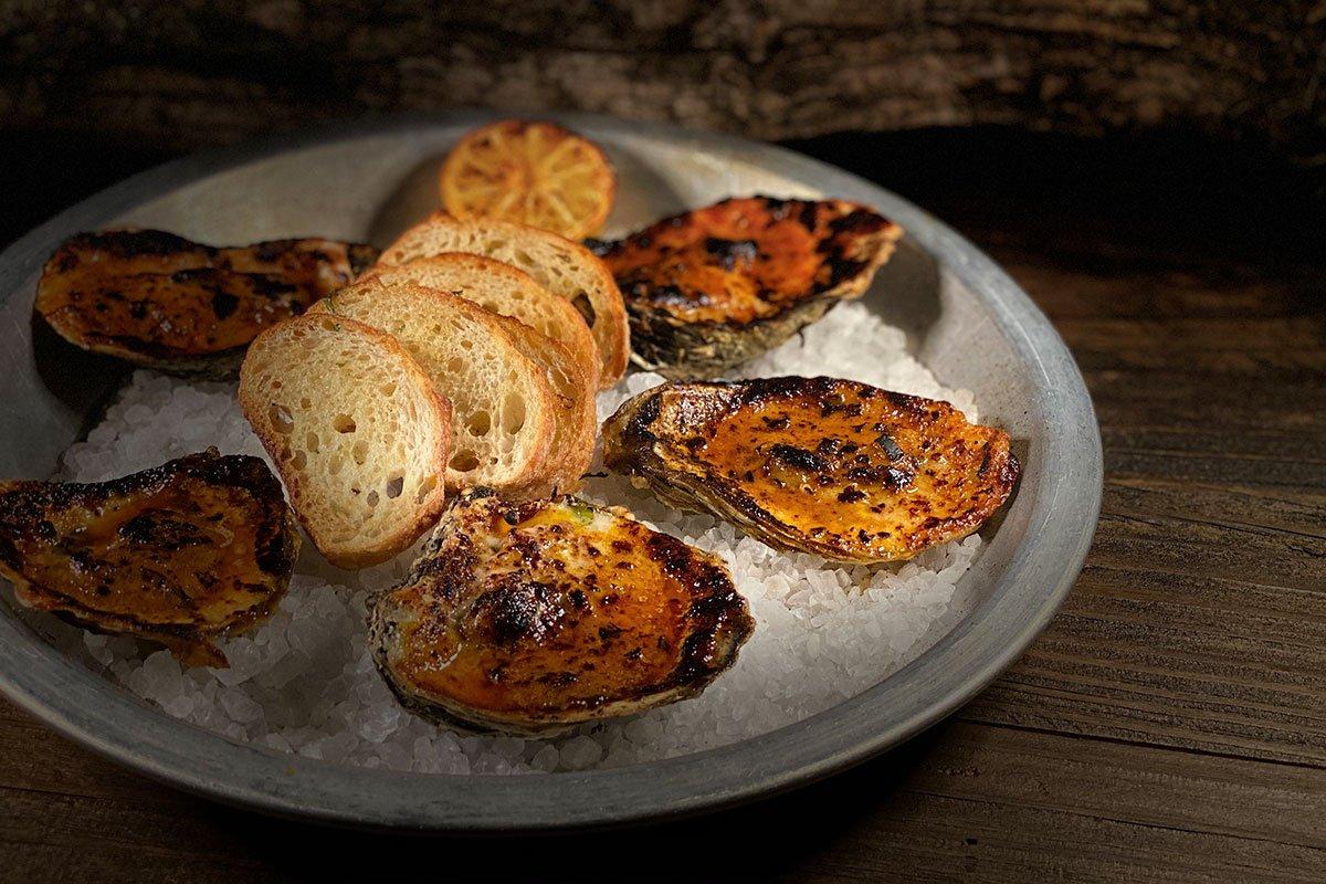 Oysters at Voodoo Bayou